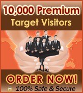 10,000 Targeted premium visitors