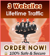 Lifetime Traffic 3 Websites- $18.00 Today Only!